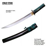 Dragonfly O Tanto With Black High Gloss Scabbard (Saya)